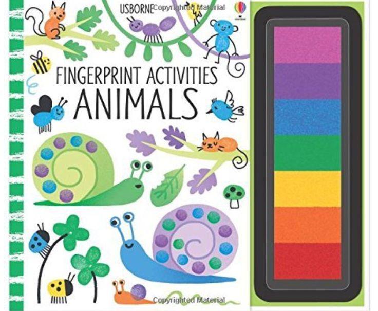 Bellissimo libro-gioco, con coautrice la famosa Fiona Watt, per far giocare i bimbi più piccoli con i colori e le dita. L'inchiostro è atossico e contenuto nei tamponi a lato del libro. In ogni pagina illustrazioni di animali da completare con le dita, seguendo le istruzioni o secondo fantasia