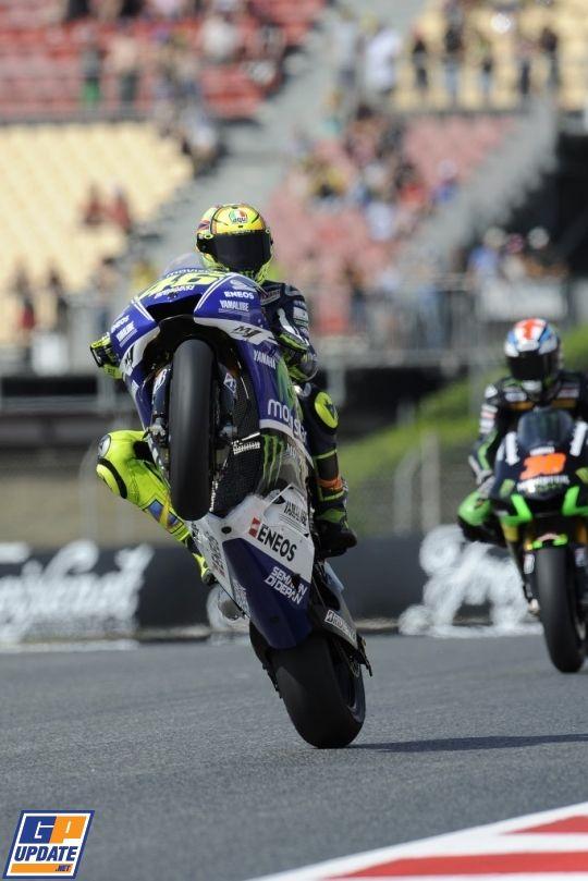 Valentino Rossi, MotoGP Grand Prix van Catalonië 2014, MotoGP