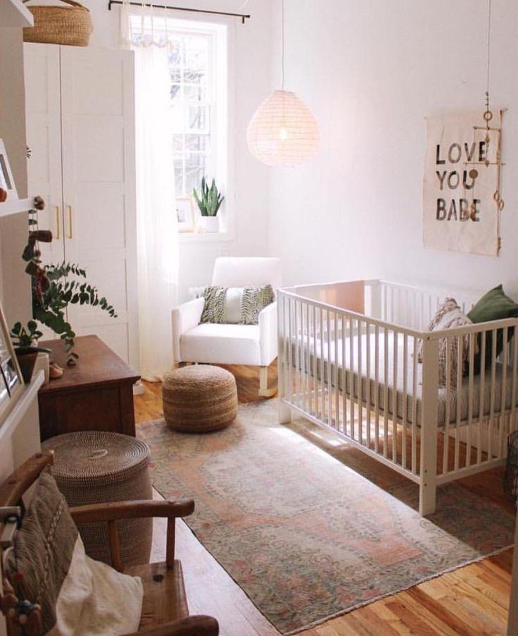 Small Space Nursery Via