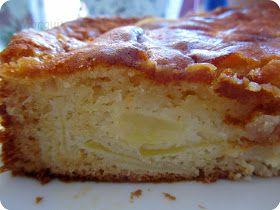 El Puchero de Morguix: *Bizcocho jugoso de manzana (versiones con o sin azúcar)