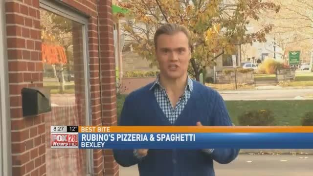 Rubino's Pizzeria and Spaghetti in Bexley has been named BEST pizza in Ohio by Thrillest.com We REALLY needed thiss excuse to go eat pizza...yep. We will go with that. Cameron Fontana was more than ready to take on the CHALLENGE of trying out Ohio's gre