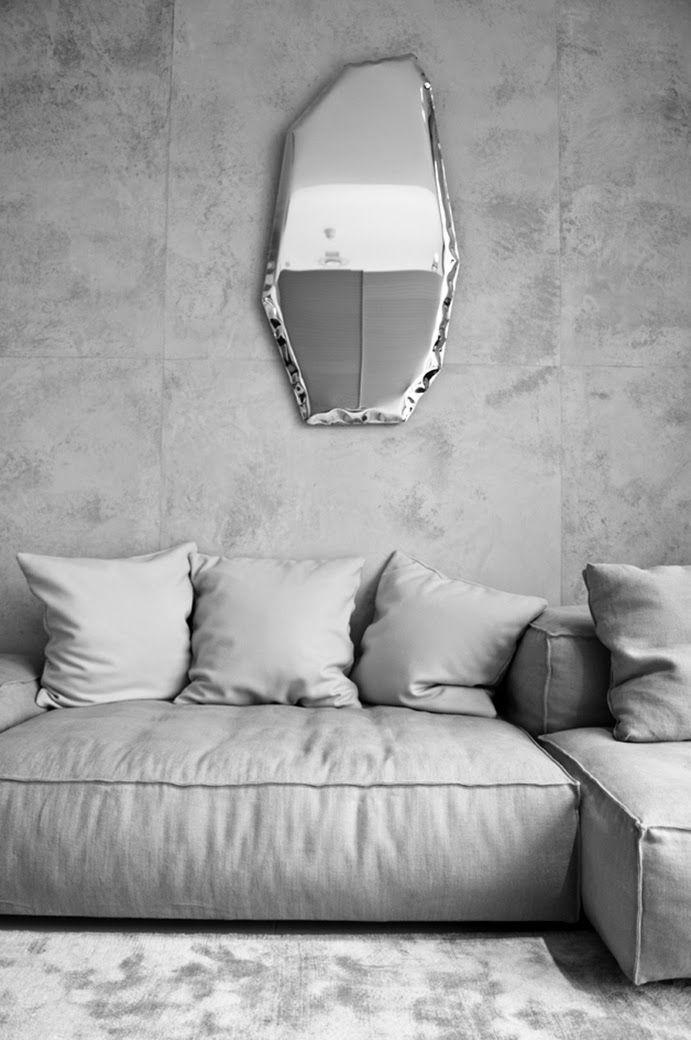 World of Driftwood: Crooked Mirror | Tafla by Zieta