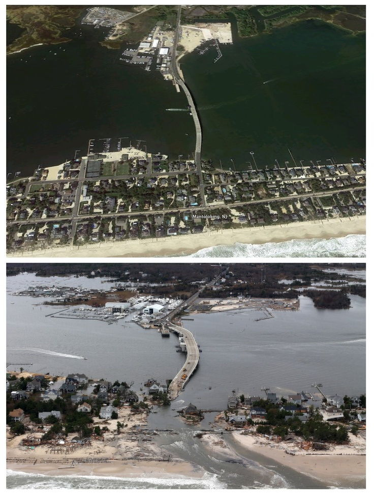 Photos: Before and after Hurricane Sandy