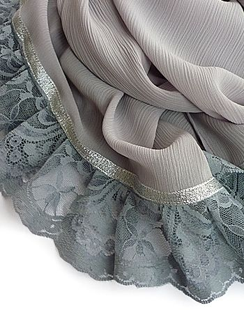   Silver Lining Hijab: £12.00   Lace = <3
