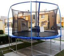 trampolines con red garantizados - trampolines de mexico brincolines