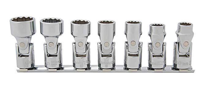 Kobalt 7 Piece Metric 3 8 In Drive 12 Point Flex Socket Set Review Socket Set Sockets Metric