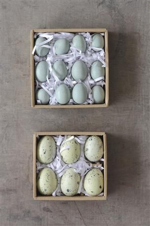 2 1 2l Ceramic Eggs In Box Set Of 6 Wholesale Wholesale Home Decorcountry Homes Decoreggs