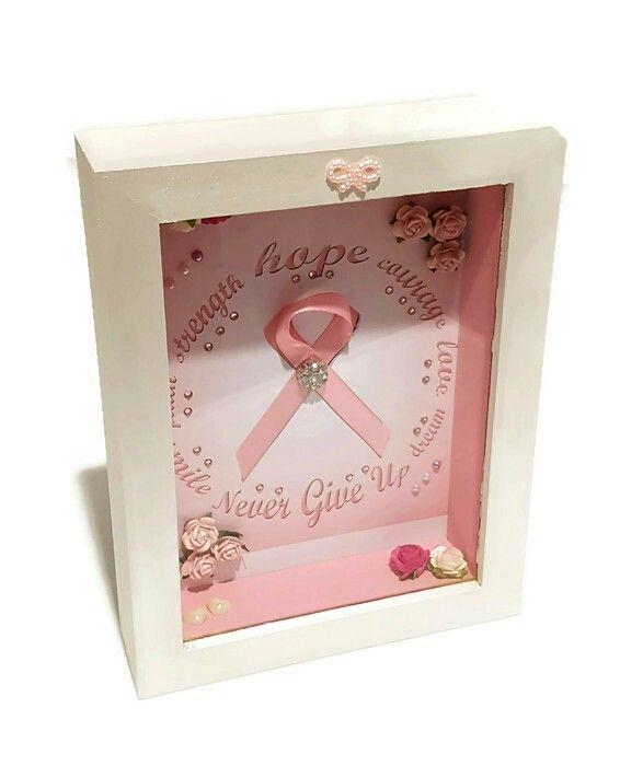 Breast Cancer Hope Shadow Box