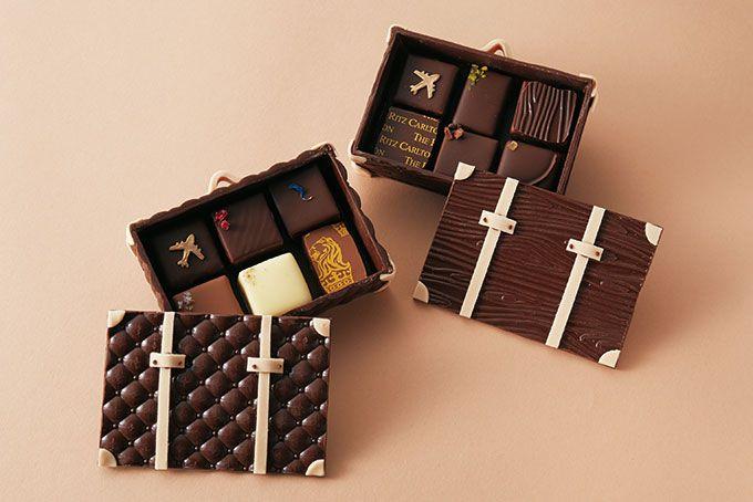 ザ・リッツ・カールトン大阪、スーツケース型チョコレートがバレンタイン限定発売 | ニュース - ファッションプレス