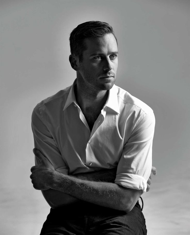 Look at Armie Hammer.