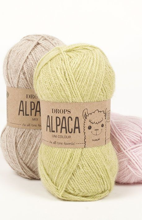 DROPS Alpaca est un fil magnifique filé en 100% alpaga superfine. La fibre alpaga n'est pas traitée, ce qui signifie qu'elle a été seulement lavée et...