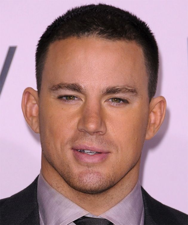 Mens hairstyles 2014 - Channing Tatum Crew Cut