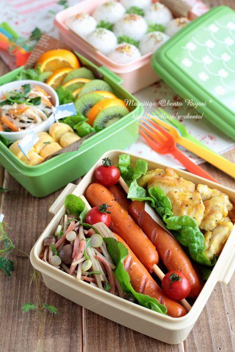 春のお出かけ♪ピクニックのお弁当 毎日がお弁当日和♪