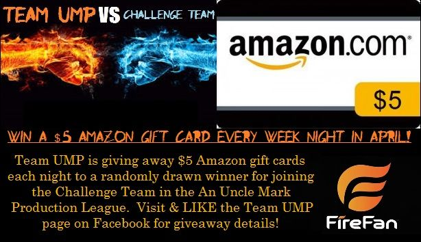 Every week night there is a 2017 NBA Playoff game on, a $5 Amazon Gift Card goes out!