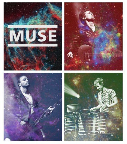 Matt - Dom - Chris - MUSE