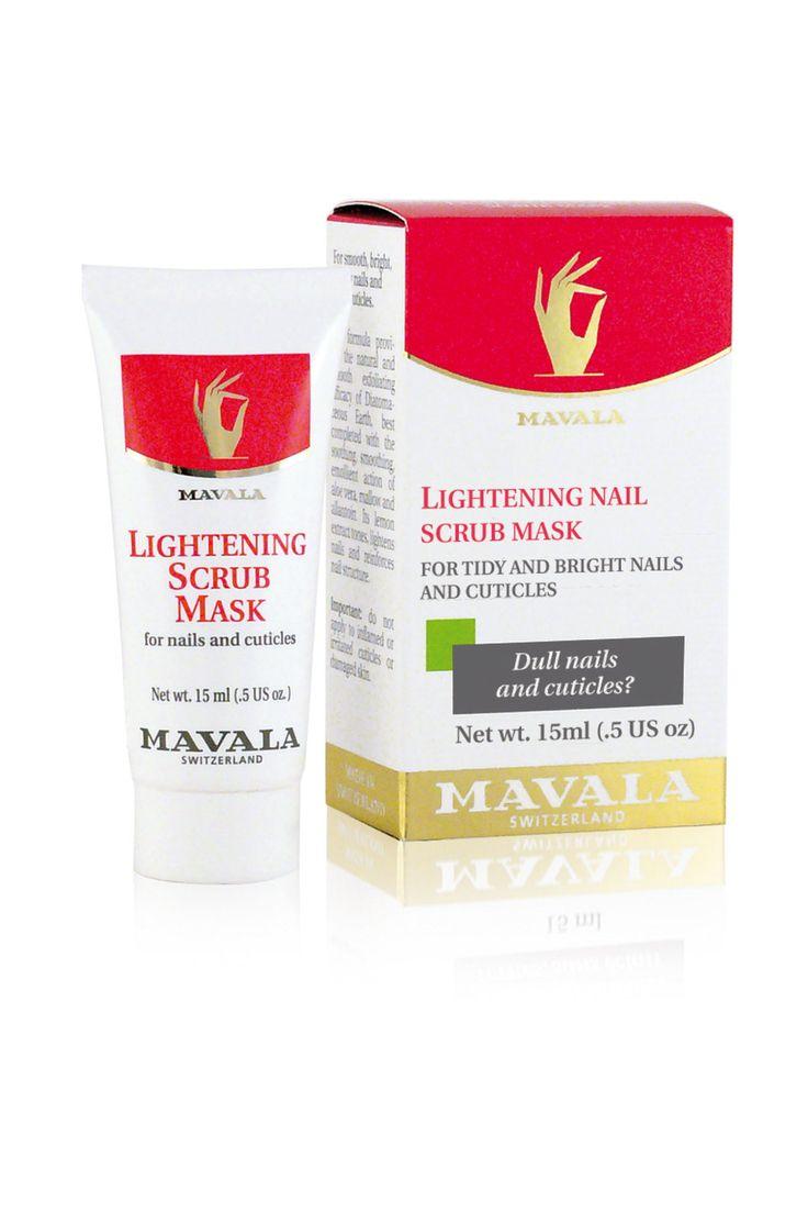 Lightening Nail Scrub Mask