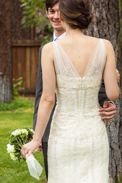Cute Real Weddings Julia and Tony us Lake Tahoe Nuptials Small Intimate WeddingSmall