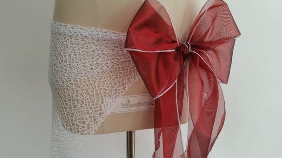 Sorrisinoの定番ヒップスカーフ(受注生産のため少しお時間を頂戴します。)ネットと先染めシャンブレーオーガンジーのリボンを組み合わせたシンプルなヒップス...|ハンドメイド、手作り、手仕事品の通販・販売・購入ならCreema。