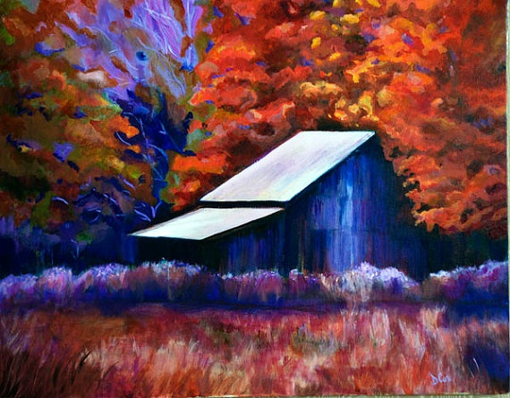 1000 Images About Barn On Pinterest Acrylic Landscape