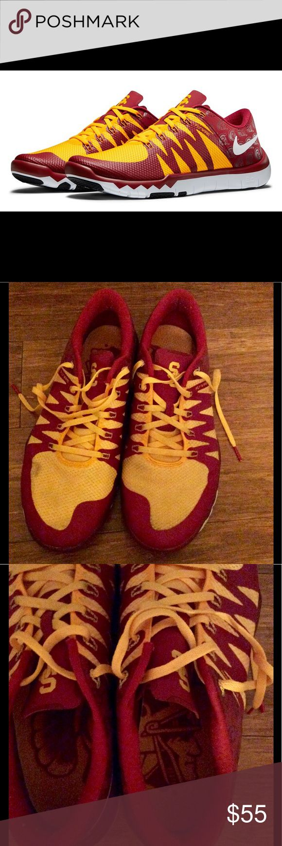 "Nike's USC College Football ""Week Zero"" Shoes GUC Nike's USC College Football ""Week Zero"" Shoes GUC. Nike Shoes Sneakers"