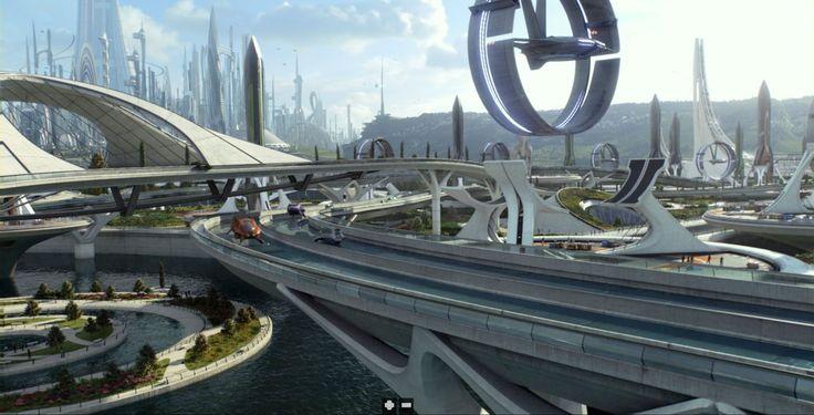 Concept Art from Disney's Tomorrowland Film