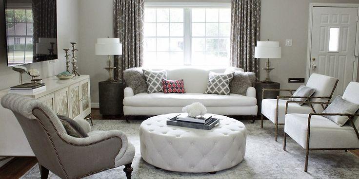 En nuestro artículo de hoy te hemos preparado unas ideas muy elegantes y sofisticadas para el salón se trata de mesa redonda o cuadrada otomana.