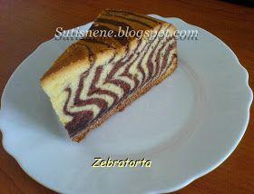 Sütis néne sütödéje: Zebratorta