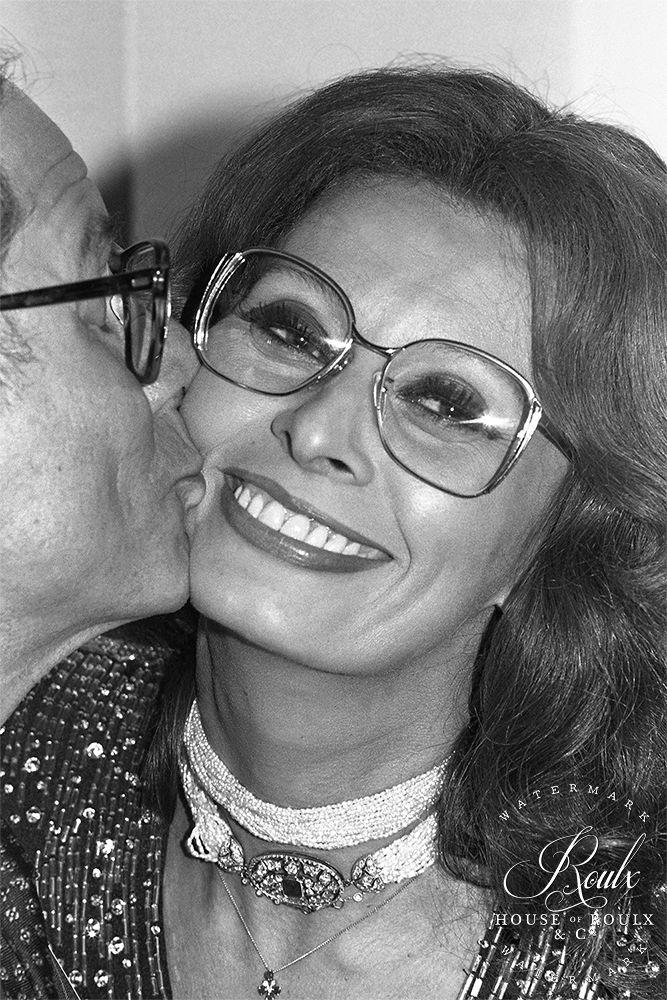 Sophia Loren (by Peter Warrack) - Limited Edition, Archival Print