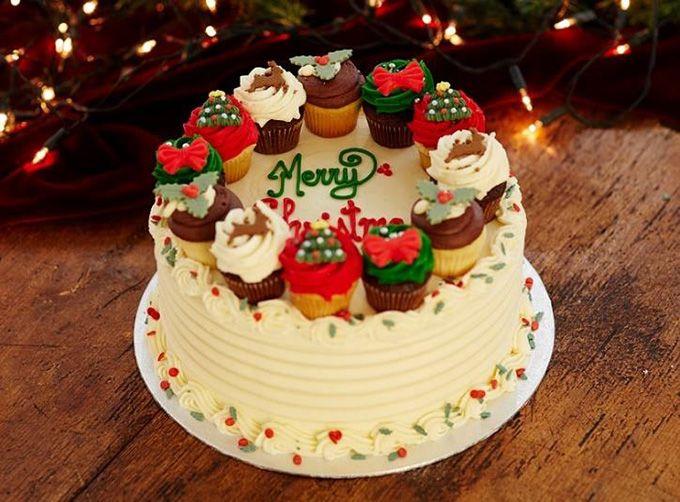 ロンドン発「ローラズ・カップケーキ」からクリスマス限定商品 - パーティ向け巨大カップケーキも - 写真3 | ファッションニュース - ファッションプレス