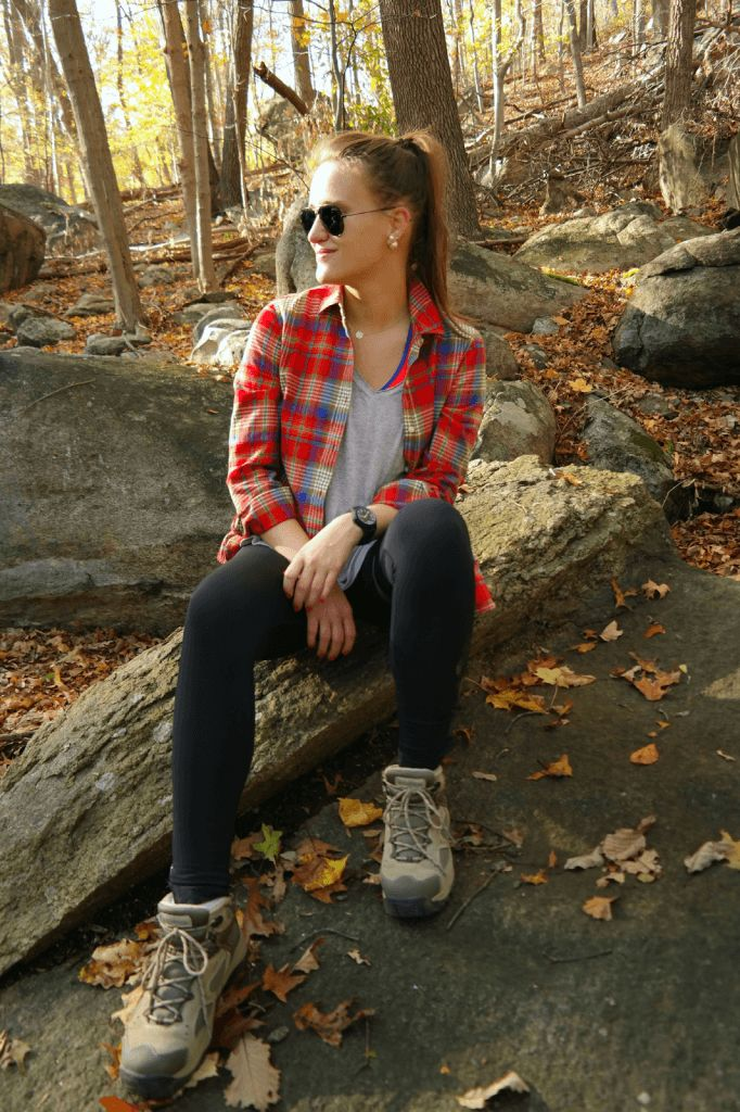 Fall-Hiking-682x1024 Girls Outfits with Hiking Boots-26 Ways to Wear Hiking Boots