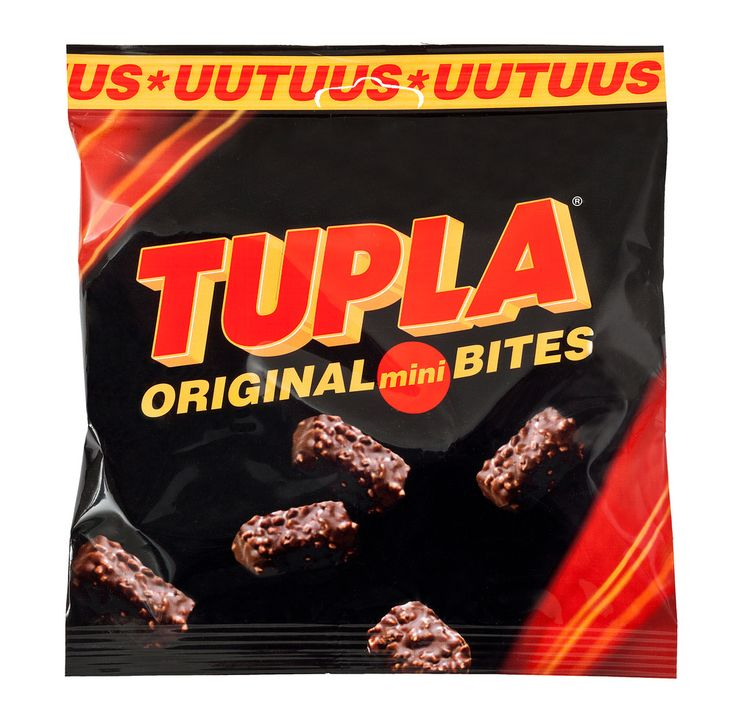Tupla Original Bites suklaapussi 160g citymarket.fi