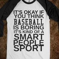 Ha! Love me some Baseball