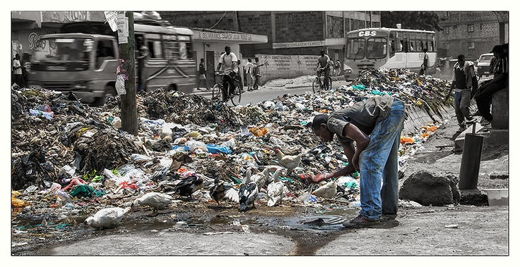 Baraccopoli di Mathare - Nairobi by Tony Corocher @ http://adoroletuefoto.it