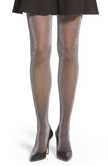 Pretty Polly Metallic Sheer Tights available at #Nordstrom