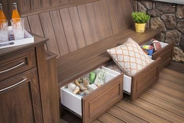 Awesome Trex Outdoor Cabinets