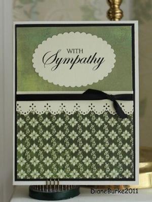 sympathy card by bethany