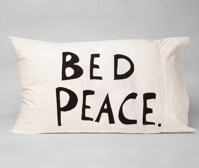 Pillow Case Set Yoko Ono Bed Peace