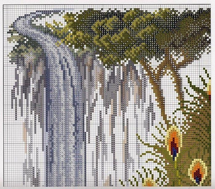 peacock waterfall 3/11