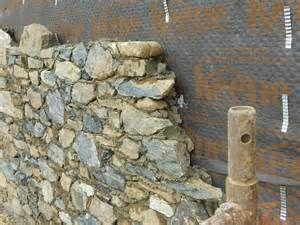 Paving stones for terrace construction