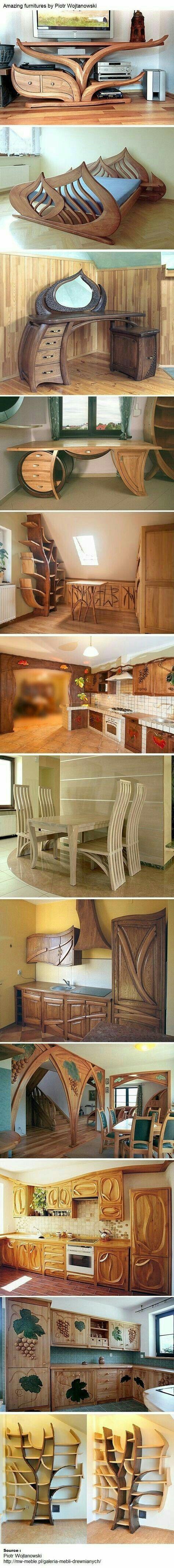 7 Mejores Im Genes De Muebles En Pinterest Carpinter A Ideas De  # Muebles Cavacitos Monterrey