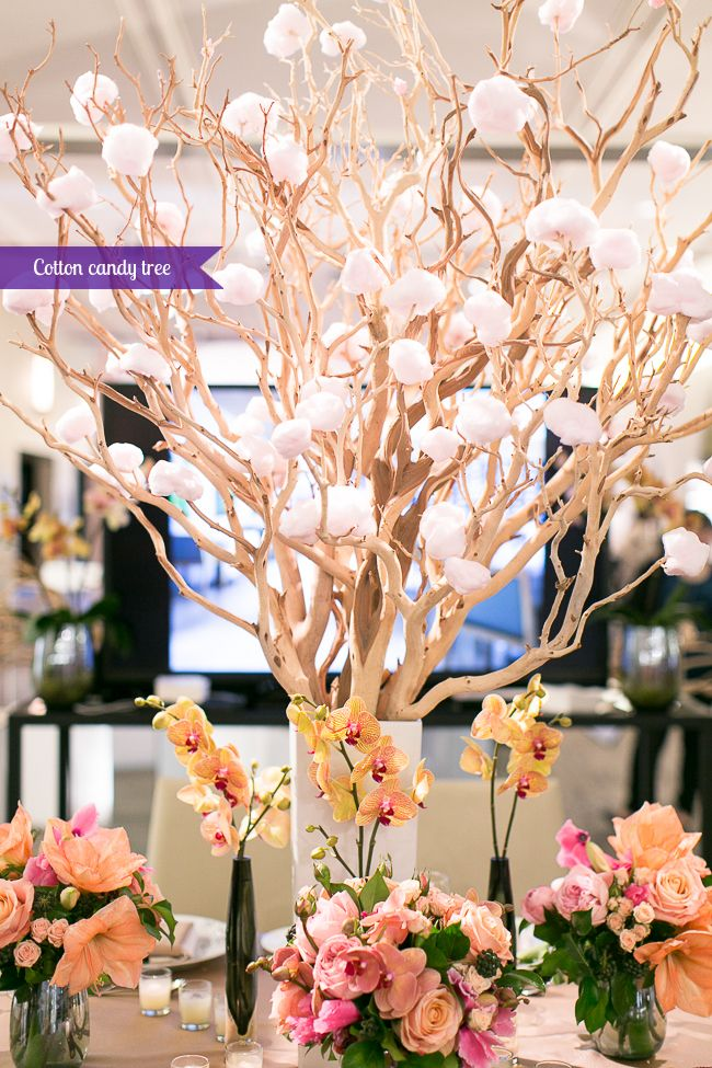 Delicious Tree!!   Wedding Co Show Shangri-La Toronto Cotton candy tree photo by Rebecca Chan, Wedding and Event Planner
