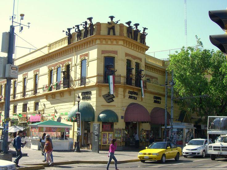 Plaza de los mariachis, Guadalajara, Jal.