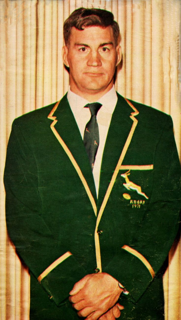 Martiens Louw - 1971 (Mclook rugby collection)