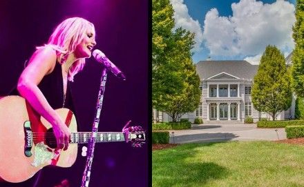 Miranda Lambert's mansion--- the one she once shared with Blake Shelton--- is up for sale. Take a little visual tour here!