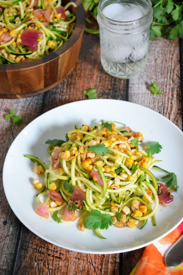 Roasted Corn & Zucchini Salad with Chili Lime Vinaigrette ...