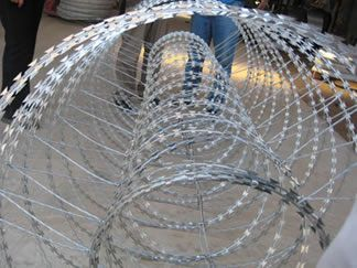 Unfold Double Razor Wire Concertina