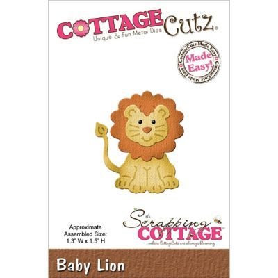 Shop Staples® for CottageCutz® 1.3'' x 1.5'' Steel Die, Baby Lion. Enjoy everyday low prices and get everything you need for a home office or business. Get free shipping on orders of $49.99 or greater. Enjoy up to 5% back when you become a reward
