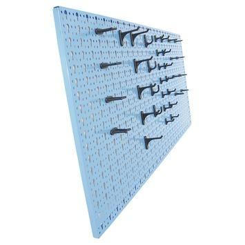 Erro gereedschapswand staal met haken 98x46 cm | Gereedschapskisten & opbergsystemen | Klusbenodigdheden | Gereedschap | GAMMA