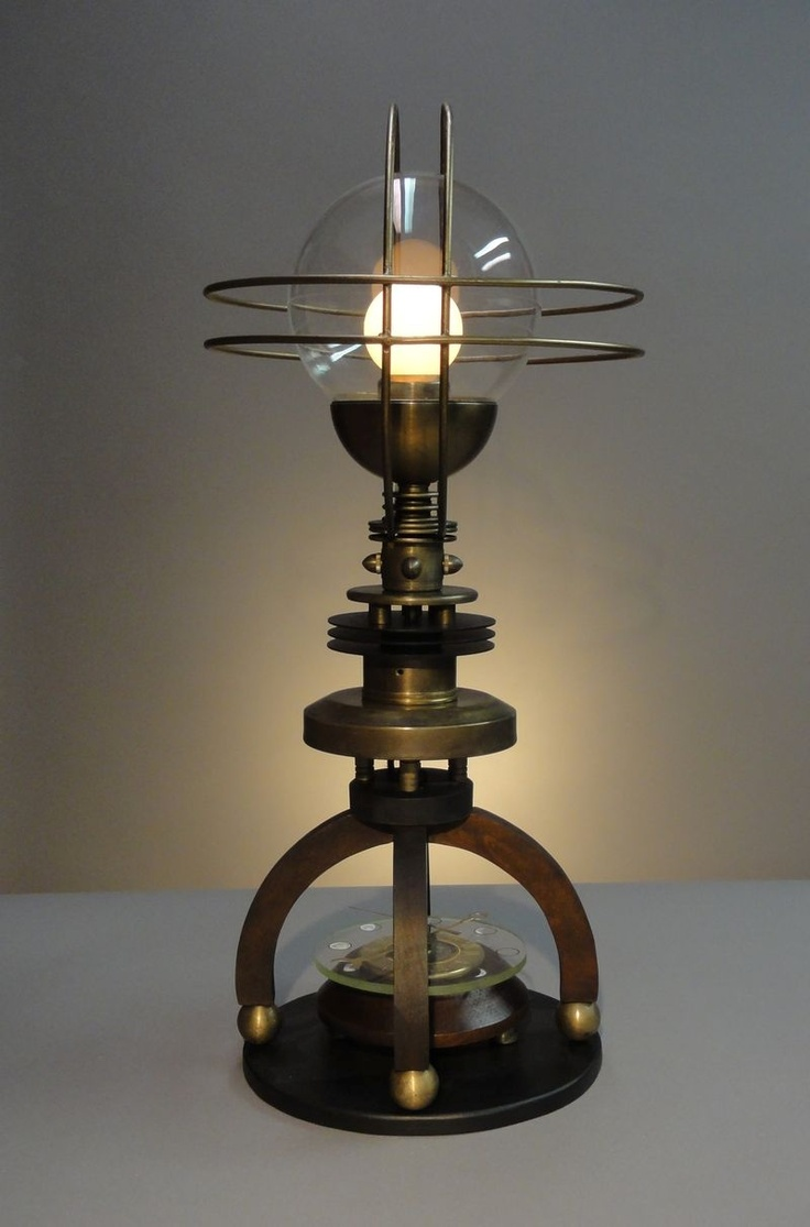 17 best steampunk articulated images on pinterest for Industrial design table lamps