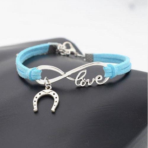 Best Seller! Horseshoe Leather Bracelet